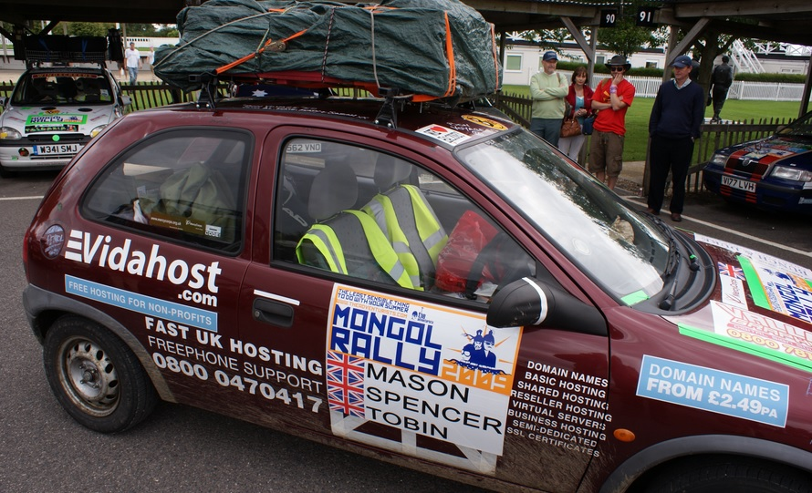 The Mongol Rally is one of the coolest car races in the world...!