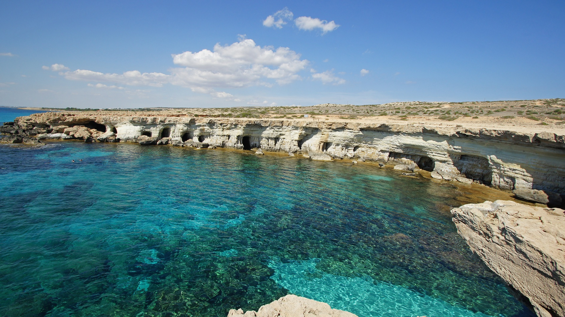 Why you should visit Cyprus? Water like this should your 1st reason...