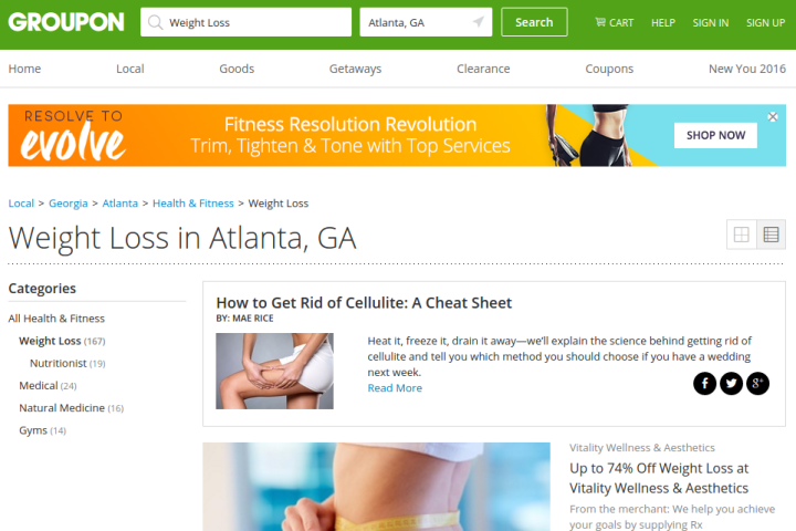 weight loss atlanta